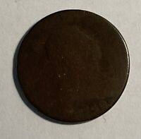 1798 LARGE CENT POOR WITH GREAT PLANCHET 11858 DATE CLEAR. REV. SLICK.