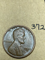 1933-D LINCOLN WHEAT CENT,  CONDITION,  DATE, 372