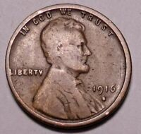 1916 S LINCOLN WHEAT CENT - NOT STOCK PHOTOS - SHIPS FREE