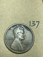 1916-S LINCOLN WHEAT CENT, LOW MINTAGE, BETTER CONDITION COIN, 137