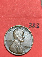 1933-D LINCOLN WHEAT CENT,  CONDITION,  DATE, 383