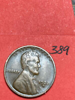 1933-D LINCOLN WHEAT CENT,  CONDITION,  DATE, 389