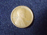 1916-S SAN FRANCISCO MINT COPPER LINCOLN WHEAT CENT F DETAILS  COIN C-25