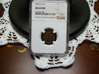 1917-S LINCOLN CENT,NGC CERT MINT STATE 64 BN,BEAUTIFUL COIN,GREAT EYE APPEAL