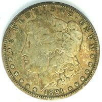 1891-O $1 US MINT SILVER 90 MORGAN DOLLAR US COIN H912
