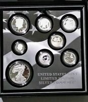 2020 U.S. MINT LIMITED EDITION SILVER PROOF SET. EIGHT 99.9