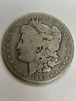 1893 PHILADELPHIA MINT SILVER MORGAN DOLLAR