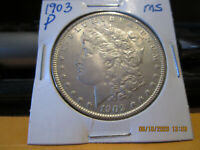1903 P MORGAN DOLLAR  MINT STATE