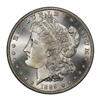 1889-S $1 MORGAN DOLLAR PCGS MINT STATE 65 CAC 2616-1