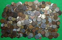 BAG OF 4.7 LBS JUNK CULL DAMAGED OLD WORLD FOREIGN COINS BUL