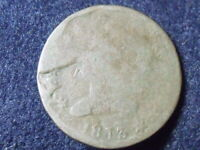 1813 CLASSIC HEAD COPPER LARGE CENT COIN POSSIBLE DIE BREAK SHIPS FREE TS-3