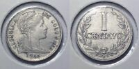 COLOMBIA   1946 CENTAVO STRONG DIE CRACKS
