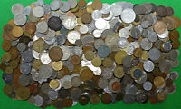 BAG OF 8.4 LBS WORLD FOREIGN COINS POUNDS OF FUN     BULK KG