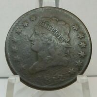 1812 US ONE CENT - 1C UNITED STATES CLASSIC HEAD LARGE CENT - H1626