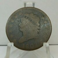1808 US ONE CENT - 1C UNITED STATES CLASSIC HEAD LARGE CENT - H1632