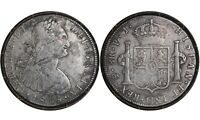 8 REALES 1805 BOLIVIA   COLONIAL    SILVER COIN / CHARLES IV