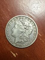 1893 O MORGAN DOLLAR   DATE VF  PLEASING