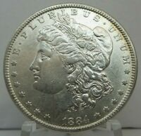 1884-P MORGAN DOLLAR MINT STATE 90 SILVER $1 US COIN COLLECTIBLE  H1775