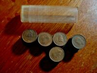 ROLL OF 50 CIRCULATED UK GREAT BRITAIN GEORGE VI ONE FARTHIN
