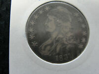 1831 CAPPED BUST HALF DOLLAR NICE EARLY SILVER 50C