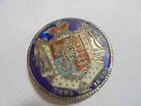 ANTIQUE/VINTAGE SILVER AND ENAMEL COIN   1835