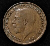1920 GREAT BRITAIN HALF PENNY OLD COIN