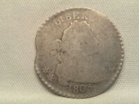 1805  DRAPED BUST SILVER DIME