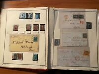 US 1857 61 PERF 15 MINT AND USED SPECIALIZED STUDY OF SHADES