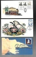 US FDC FIRST DAY COVERS COLLECTION BETTER OR HAND CRAFTED