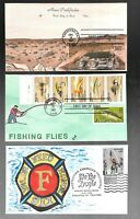 US FDC FIRST DAY COVERS COLLECTION  HAND PAINTED OR COLORED