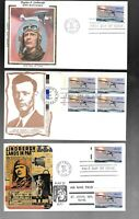 US FDC FIRST DAY COVERS   1710 CHARLES LINDBERGH 1977  LOT O
