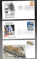 US FDC FIRST DAY COVERS  COLLECTION  $ 5.00 TO $ 1.00   LOT