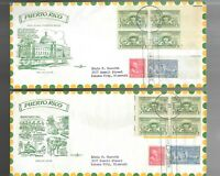 US FDC FIRST DAY COVERS  983 PUERTO RICO 1949  PENT ARTS LOT