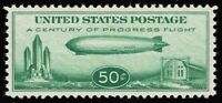 SCOTTC18 50C AIR MAIL BABY ZEPPELIN MINT NH OG NEVER HINGED