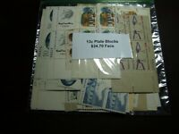 US POSTAGE 13 CENT MINT NEVER HINGED PLATE BLOCKS OF 4  $24.