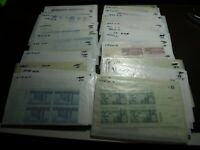 US POSTAGE 100 3 CENT MINT NEVER HINGED PLATE BLOCKS OF 4  $