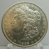 1892 S UNITED STATES MORGAN SILVER DOLLAR S$1 - KEY DATE - CLEANED - H1666