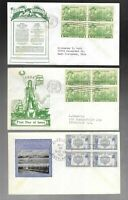 US FDC FIRST DAY COVERS  COLLECTION  ARMY NAVY HEROES 1936 1