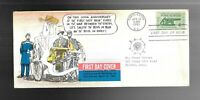 US FDC FIRST DAY COVER   1178 FORT SUMTER 1961 CIVIL WAR TEX
