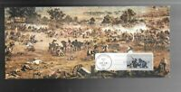 US FDC FIRST DAY COVER   1180  GETTYSBURG 1963 BATTLE SCENE