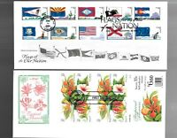 US FDC FIRST DAY COVERS  COLLECTION  LOT OF 12 WITH COMBO OR