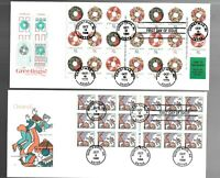 US FDC FIRST DAY COVERS  CHRISTMAS  LOT OF 11 WITH COMBO OR