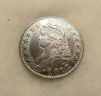 1812 CAPPED BUST 50C - OVERTON 107 -  SHARP LOOKING COIN - SHIPS FREE
