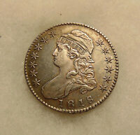 1818/7 CAPPED BUST 50C -  OVERTON-101