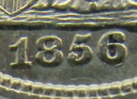 1856-O RPD F-104 SEATED LIBERTY 10C  PCGS AU55 OLD SERIES HOLDER PRETTY COIN