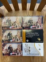 7 PRESIDENTIAL UNITED STATES MINT PROOF SETS 2007 - 2013 BOXES COA INCLUDED