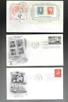US FDC FIRST DAY COVERS  COLLECTION 1940 'S  LOT OF 16 NO AD
