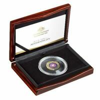 2021 MILKY WAY THE EARTH & BEYOND $100 COLOURED GOLD PROOF D