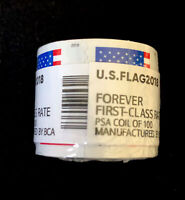 FOREVER STAMPS 100  QUANTITY   1 ROLL  UNITED STATES  GOOD L
