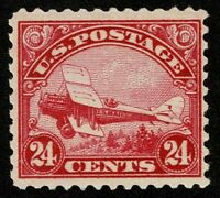 SCOTTC6 24C BACK OF BOOK AIR MAIL 1923 MINT VERY LH OG WELL